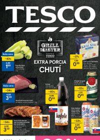 TESCO Hypermarket aktuálny leták
