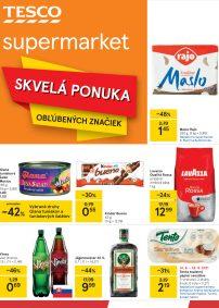 TESCO Supermarket aktuálny leták
