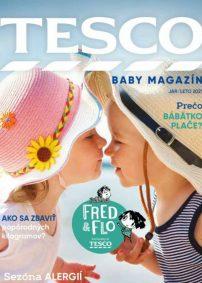 TESCO Baby Magazín